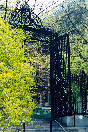 laurel blossom gate photograph